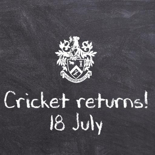 Cricket Is Back: July 18th