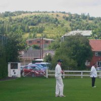 Back Lane, home of Clayton West Cricket Club