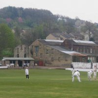 Miry Lane, home of Thongsbridge Cricket Club