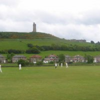 Castle Hill, home of Hall Bower Cricket Club