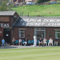 Huddersfield Road, home to Delph & Dobcross Cricket Club